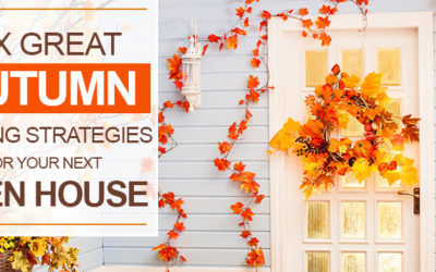 Six Great Autumn Staging Strategies For Your Next Open House