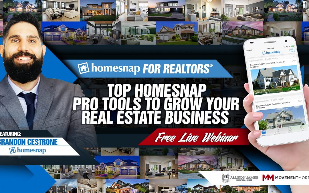 Top Homesnap Pro Tools to Grow Your Business