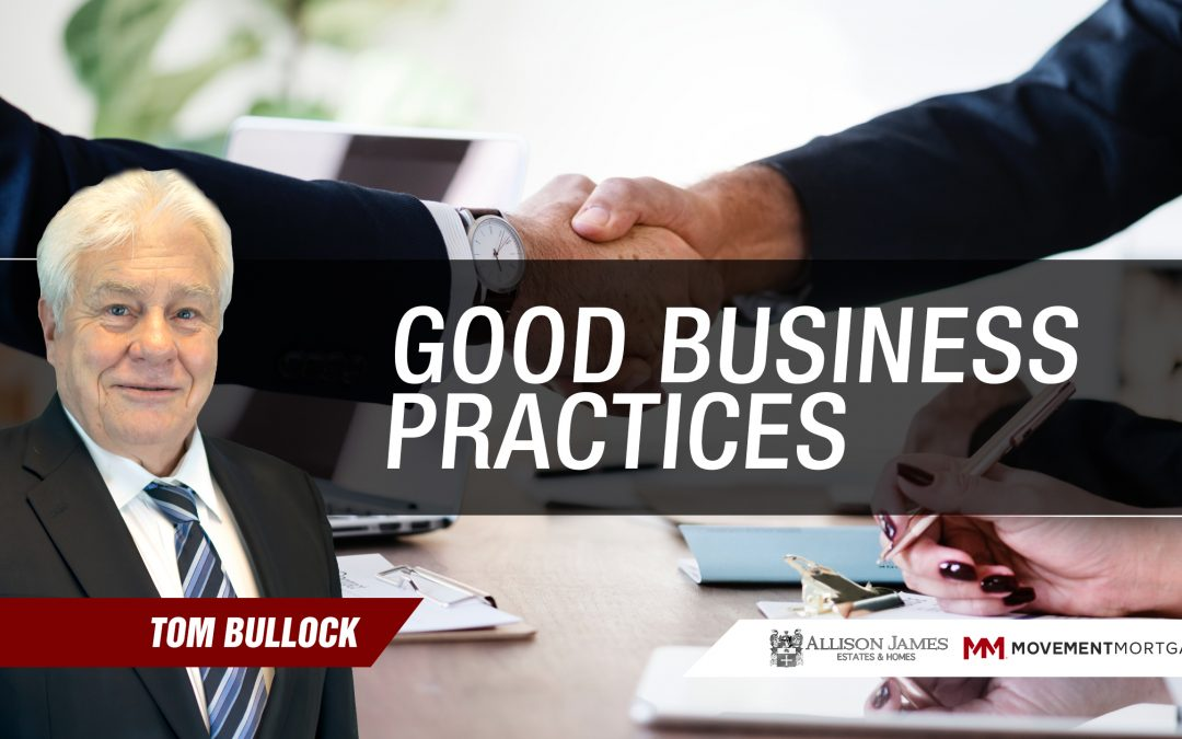 Good Business Practices – Contracts & Compliance