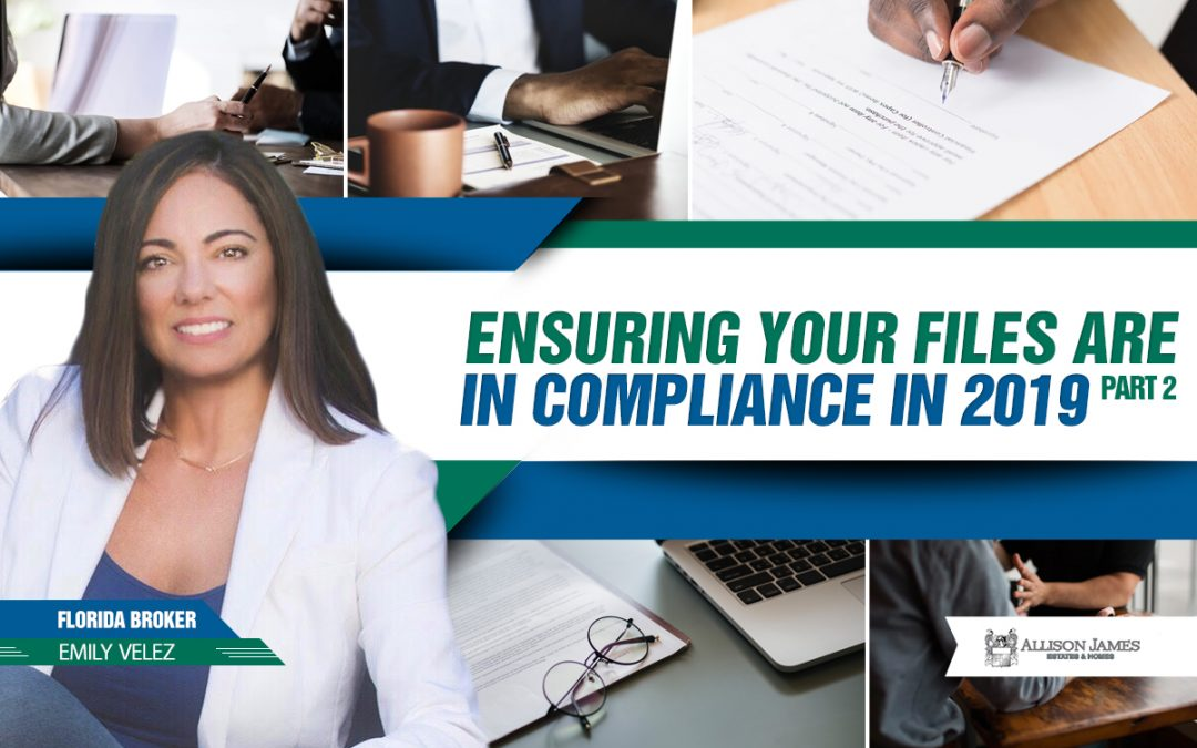 Ensuring Your Files are in Compliance in 2019 : Part 2