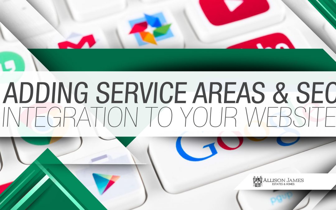 Adding Service Areas & SEO Integration to Your Website