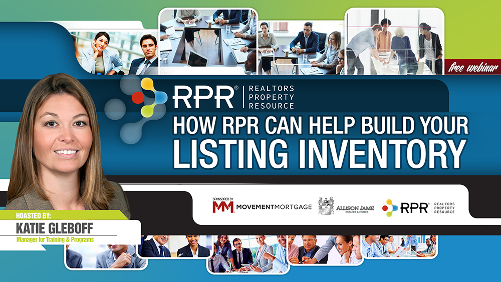 How RPR Can Help Build Your Listing Inventory